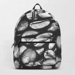 roasted coffee beans texture acrbw Backpack