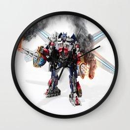 Die Decepticons Die!!! Wall Clock