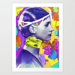 """Purple Haze"" Art Print"