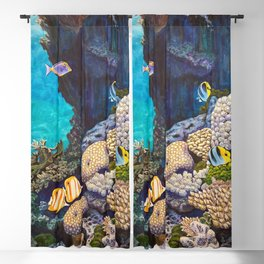 The Gathering - Coral Reef Blackout Curtain