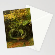 Leaf Your Troubles Behind Stationery Cards