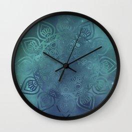 Universe Mandala Wall Clock