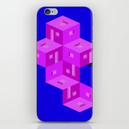 theres a home here inside iPhone Skin