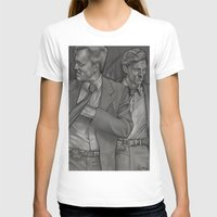 true detective T-shirts featuring True Detective  by Dave Roberts Art