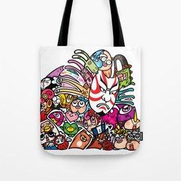 歌舞伎 - JAPANESE KABUKI Tote Bag