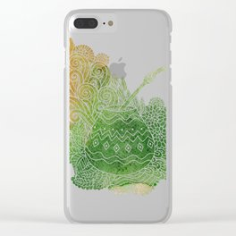 Yerba Mate Clear iPhone Case