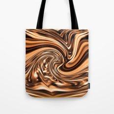 Copper Twist Tote Bag