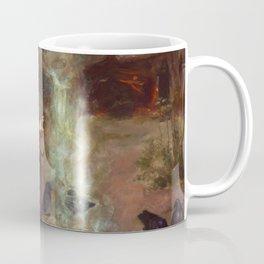 The Magic Circle John William Waterhouse Painting Coffee Mug