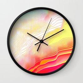 Pool Hallucination Wall Clock