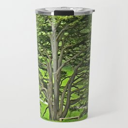 Old English Tree Travel Mug