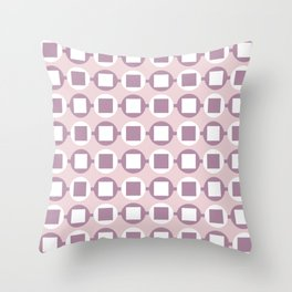 Candy Sweets Pink Champagne Pattern Throw Pillow