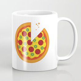 Pizza Salami Coffee Mug