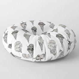 Ice Cream Cones – Black Palette Floor Pillow