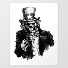 Uncle Sam Art Print