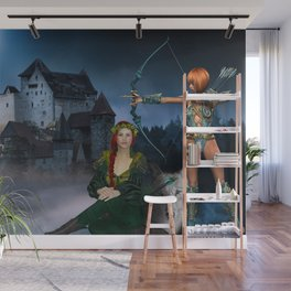 Castle Guardians Wall Mural