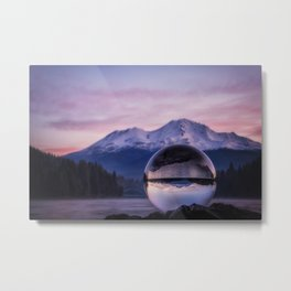 My Perspective on a Sunrise Metal Print