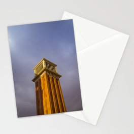 Venice in Barcelona Stationery Cards