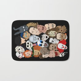 Icons Bath Mat