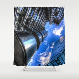 Lloyd's of London and the Cheese Grater Shower Curtain