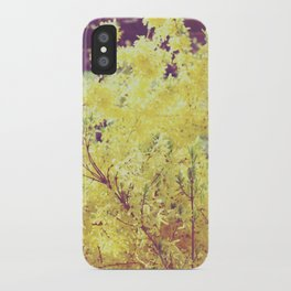 yellow flower - Forsythia iPhone Case