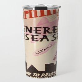Vintage poster - Venereal Diseases Travel Mug