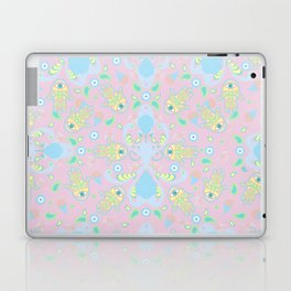 Pink Hamsa Toss Laptop & iPad Skin