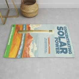 US Department of Energy LPO Poster - Concentrating Solar Power (2016) Rug