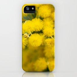 Golden Wattle iPhone Case