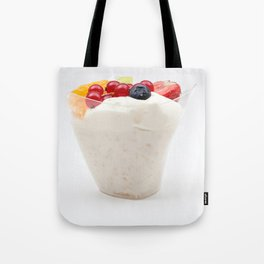 rice pudding from fruit Tote Bag