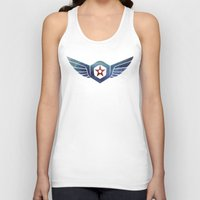 pacific rim Tank Tops featuring Pacific Rim Gipsy Danger by foreverwars