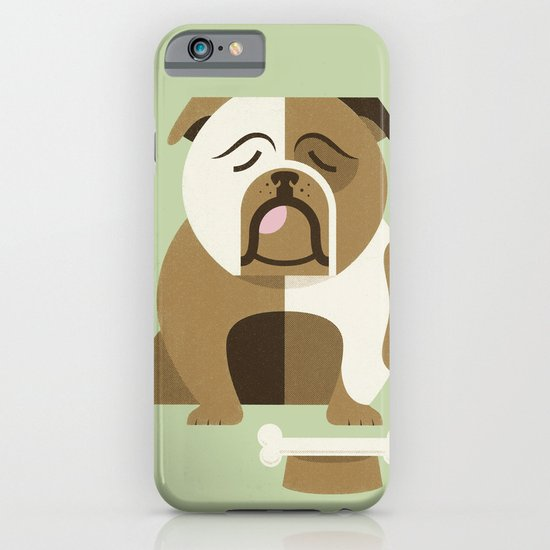 Bulldog - Green Variant iPhone & iPod Case