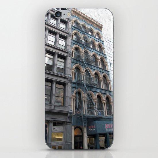 Fire Escape iPhone & iPod Skin