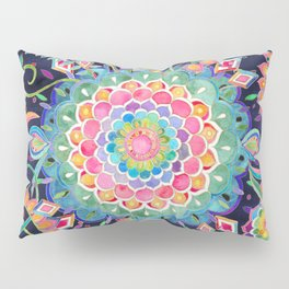 Color Celebration Mandala Pillow Sham