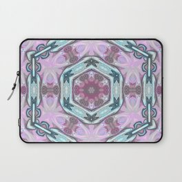 Abstract Blue -pink Laptop Sleeve