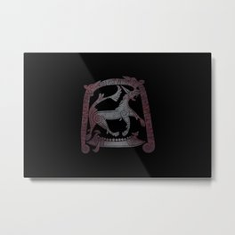 Viking pagan design #2 Metal Print