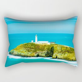 Winter in Snowdonia, Wales Rectangular Pillow
