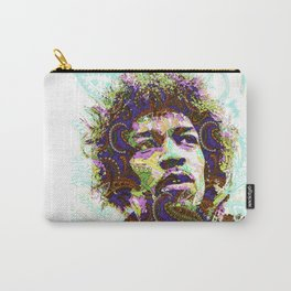 Hendrix Psychedelic Guitar Carry-All Pouch