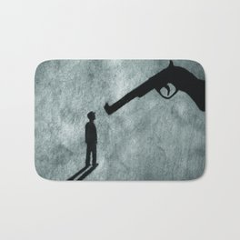 The Belly of the Beast Bath Mat