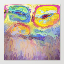 485 - Abstract colour design Canvas Print