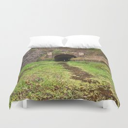 Paw Paw Tunnel Duvet Cover