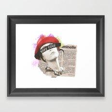 Stay Cool  Framed Art Print