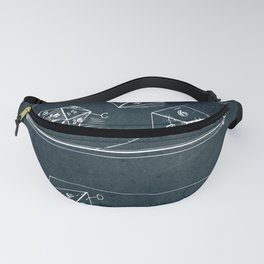 Dice game Fanny Pack