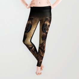 Skeleton Scribe Leggings