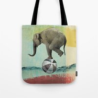 balance Tote Bags featuring Balance by Vin Zzep