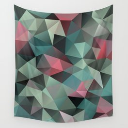 Polygon pattern 8 Wall Tapestry