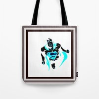 anonymous Tote Bags featuring anonymous by Flo Zero