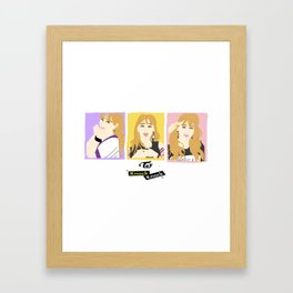 Knock Knock! Jihyo Version Framed Art Print