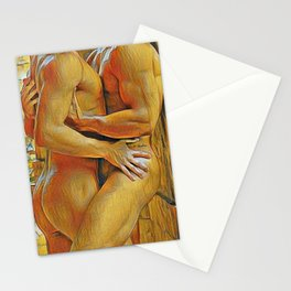 Cornered...and Glad for It Stationery Cards