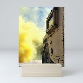 Yellow Smoke Mini Art Print