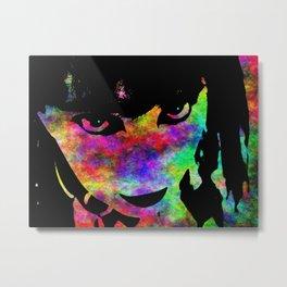 Absrtact Face 3 Metal Print